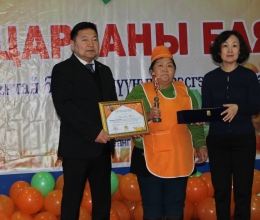 Sea buckthorn festival was organized in Uvs aimag for the fourth year.